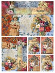 Papier ryżowy Calambour 33x48 cm dziecko obrazki