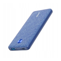 Anker powerbank power core 10000 pd fabric blue