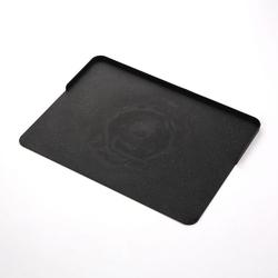 Deska do krojenia śniadaniowa practic flexi cosmos czarna 39 x 29 cm
