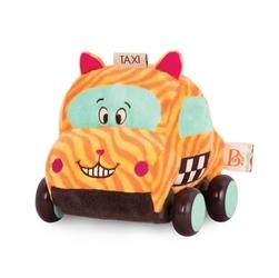 Pluszowe autko z napędem, kotek