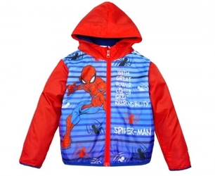 Wiosenna kurtka spider-man 3 lata