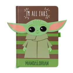 Star wars the mandalorian im all ears green - notes a5