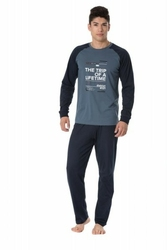 Rossli sam-py-095 piżama męska