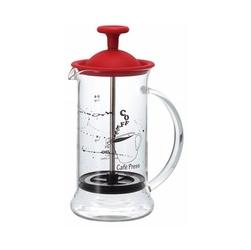 Zaparzacz tłokowy do kawy czerwony cafe press slim s hario