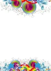 Tablica suchościeralna 01x 094 dekoracje