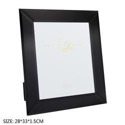 Duo ramka na zdjęcia 33 cm black mat