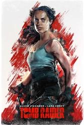 Tomb raider - plakat premium wymiar do wyboru: 21x29,7 cm
