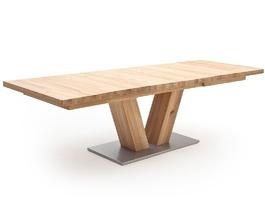 Drewniany dębowy rozkładany stół managua a  dąb bianco, 180-270 x 100 cm