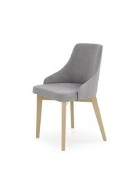 Krzesło skandynawskie toledo jasny popiel