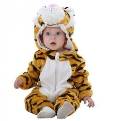 Piżama onesie kigurumi dla dzieci tygrysek