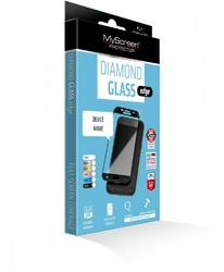 MyScreen Protector Diamond Edge Szkło do Samsung J3 2017 Czarny