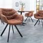 Interior space :: krzesło comfort antyczny brązowy