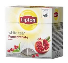 Herbata lipton white tea granat - 20 torebek
