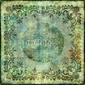Fotoboard na płycie vintage, zielony koronkowy papier