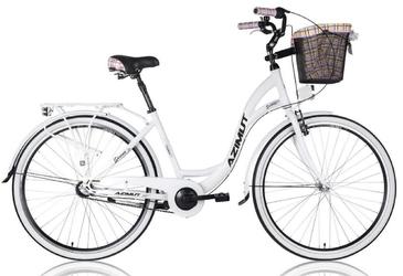 Rower miejski azimut sarema 28 alu 3b-nexus 2019 biały