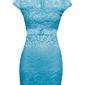 Sukienka koronkowa bonprix niebieski