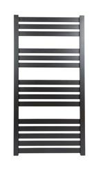 Grzejnik łazienkowy vas - rurka płaska, 500x1200, czarny