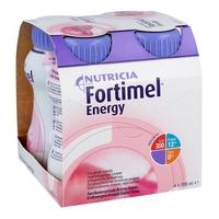 Fortimel energy o smaku truskawkowym do picia
