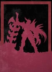 League of legends - aatrox - plakat wymiar do wyboru: 40x60 cm