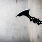 Batman arkham city - batarang - plakat wymiar do wyboru: 60x40 cm