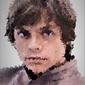Polyamory - luke skywalker, gwiezdne wojny star wars - plakat wymiar do wyboru: 40x60 cm
