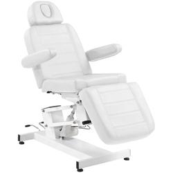 Fotel kosmetyczny elektr. azzurro 705 1 siln. biały