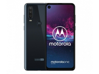 Motorola Smartfon Moto One Action 464GB Dual Sim niebieski