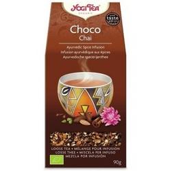 Herbata choco chai aztec spice yogi tea bio 90g sypana