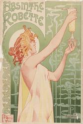 Absynt - plakat Wymiar do wyboru: 42x59,4 cm