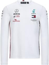 Koszulka longsleeve mercedes amg petronas f1 2020 biała - biały
