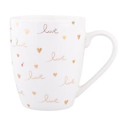 Kubek do kawy i herbaty porcelanowy altom design love 300 ml