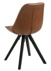 Krzesło z poduszką na siedzisku dima pu ekoskóra