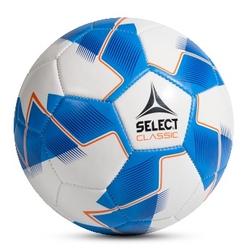 Piłka nożna select classic 4 biało-niebieska