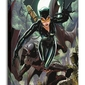 Batman cat i bat - obraz na płótnie