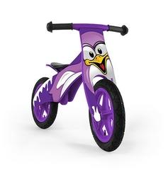 Milly mally duplo pingwin rowerek biegowy drewniany + lampka led