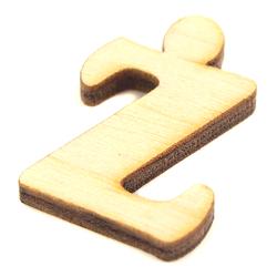 Drewniana literka do rękodzieła - Ż - Z
