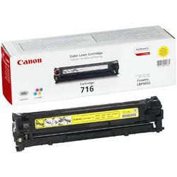 Toner Oryginalny Canon CRG-716 Y 1977B002AA Żółty - DARMOWA DOSTAWA w 24h