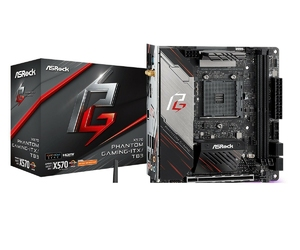 Asrock płyta główna x570 phantom gaming itxtb3 am4 4ddr4 hdmidp mini itx