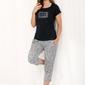 Luna 485 piżama damska