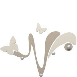Wieszak ścienny dekoracyjny butterfly calleadesign gołębi 50-13-1-13
