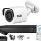 Zm14085 zestaw monitoringu bcs view rejestrator ip 1x kamera fullhd bcs-v-ti221ir3