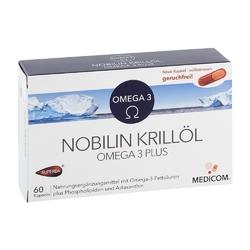 Nobilin krilloel omega 3 plus kapsułki