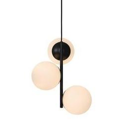 Nordlux :: lampa wisząca lilly czarna wys. 36,5 cm