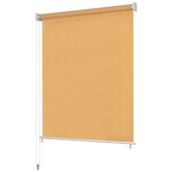 Vidaxl roleta zewnętrzna, 160x230 cm, beżowa