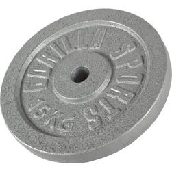 15 kg obciążenie żeliwne talerz na sztangę 30 mm gorilla sports
