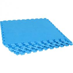 Zestaw mat ochronnych 8 sztuk, niebieski