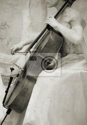 Plakat rocznika wiolonczela