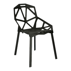 Krzesło gap pp czarne simplet - czarny