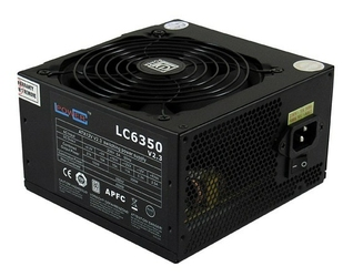 LC-POWER ZASILACZ 350W LC6350 V2.3 80+ Bronze 120mm 4x SATA 2x PATA 1x PCIe BLACK Active PFC