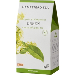 Hampstead | green tea - herbata zielona liściasta 100g | organic